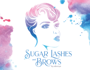 sugar lashes and brows logo